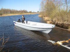Лодка Камчатка