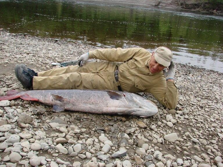 Рыбалка на реке уда